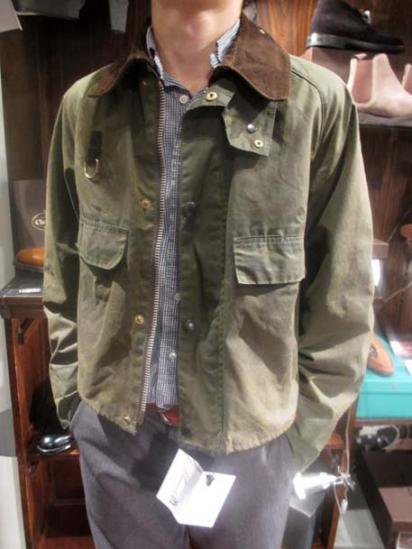 BARBOUR Spey 70-80's Vintage Style sample