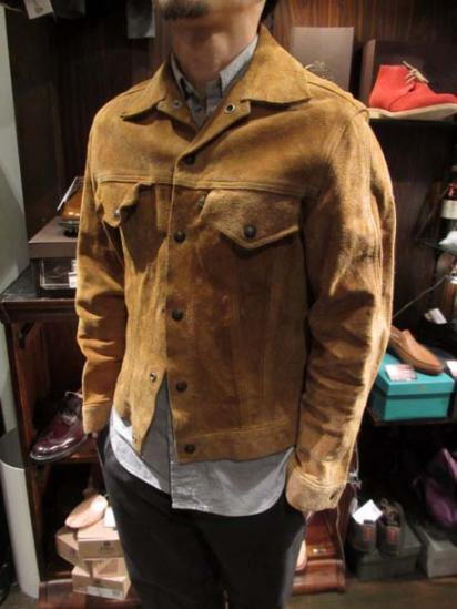 LEVI'S Suede BIG-E 60`S Vintage Style sample