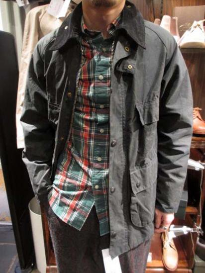 BARBOUR Bedale  Vintage  Style sample
