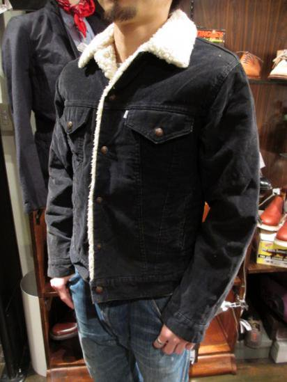 LEVI'S 70608 Corduroy Boa Jacket 70's Vintage Style sample