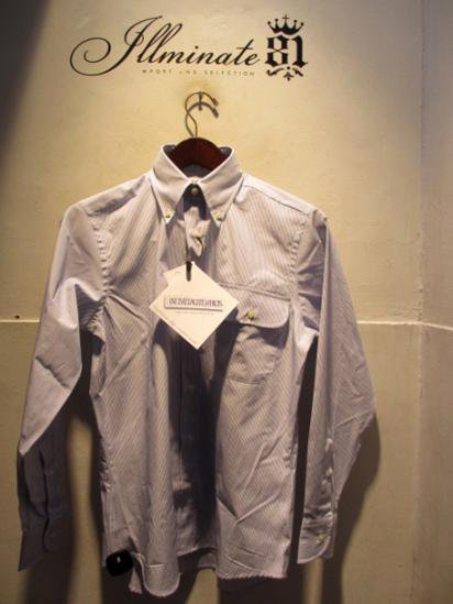 INDIVIDUALIZED SHIRTS Pencil-Stripe illminate別注