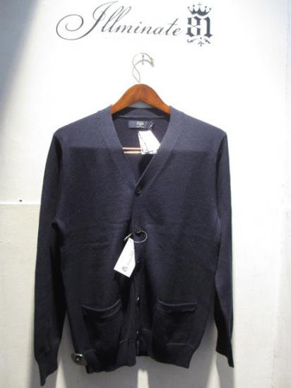J.crew Cotton Cardigan Navy