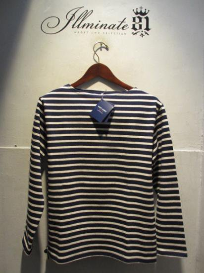 Saint James Basque Shirts Made in France Navy / Nat