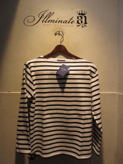Saint James Basque Shirts Made in France Wht / Navy