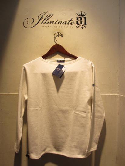 Saint James Basque Shirts Made in France White