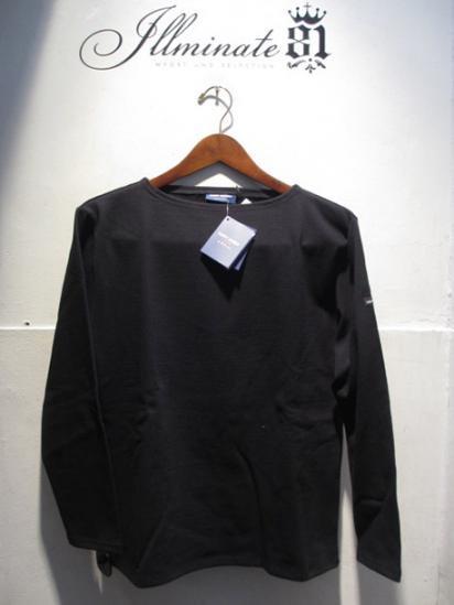 Saint James Basque Shirts Made in France Black