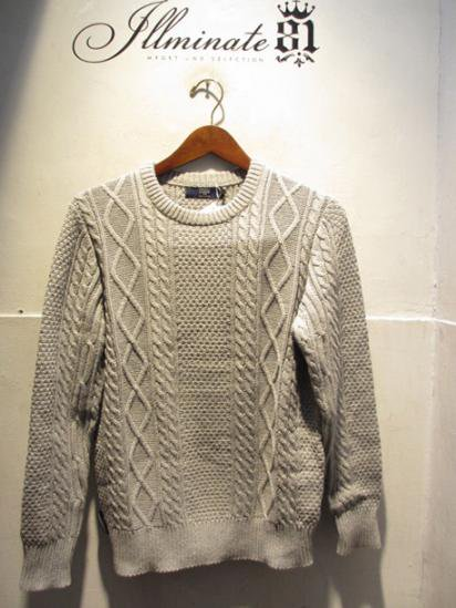 J.Crew Cotton Cable Knit Sweater