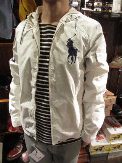 Ralph Lauren Beach Parka White Style sample
