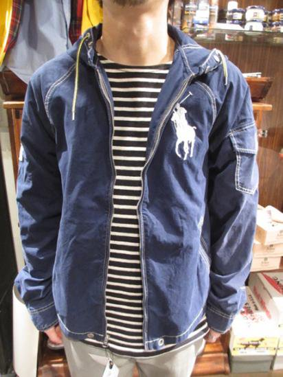 Ralph Lauren Beach Parka Navy Style sample
