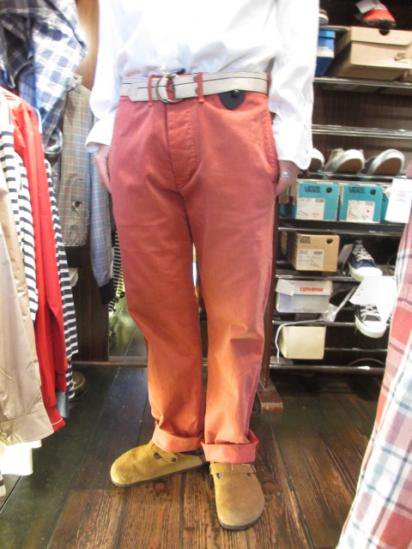 RRL Officer field Chino Style sample