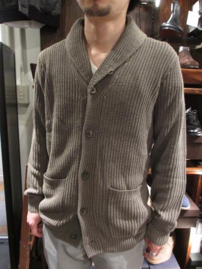 RALPH LAUREN RLX shawl Knit Cardigan Style sample