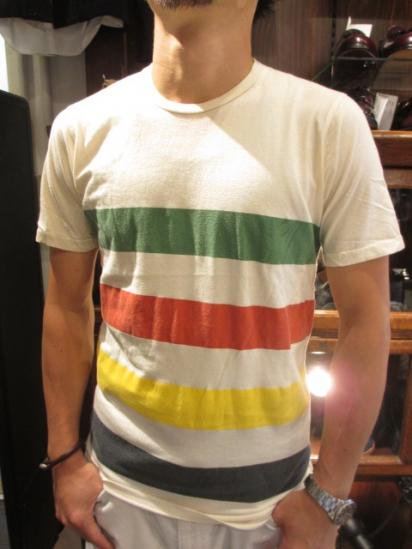 HUDSON'S BAY COMPANY + SHARED Border Tee  Style sample