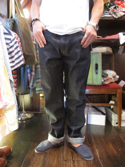 RRL Straight Leg Non wash Made in U.S.A Style sample