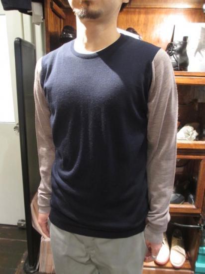 JOHN SMEDLEY Crew Knit