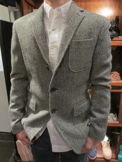 RUGBY by Ralph Lauren Tweed Jkt Style sample