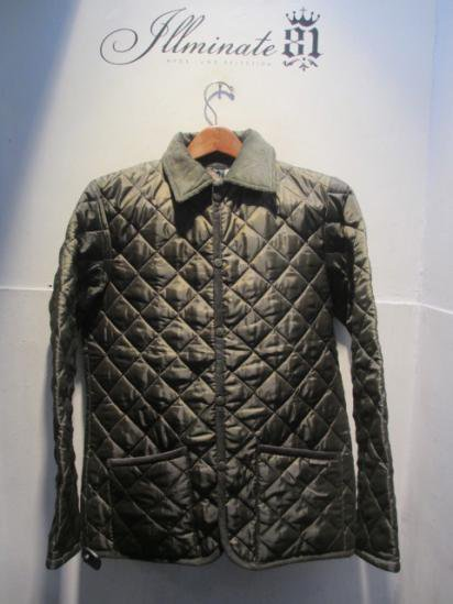 LAVENHAM Quilted Jacket Made in England Olive