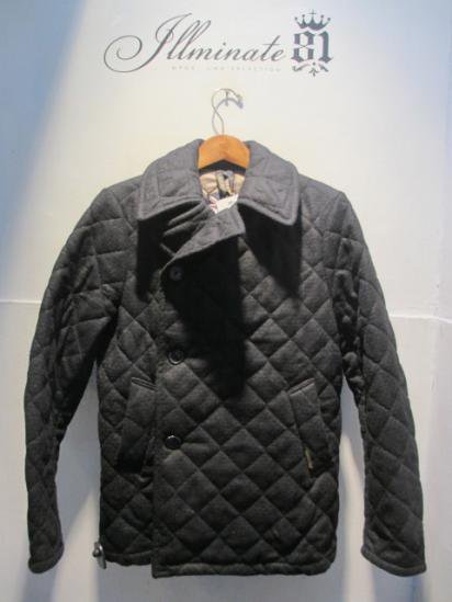 LAVENHAM Basket Wool Quilted Jacket Made in England