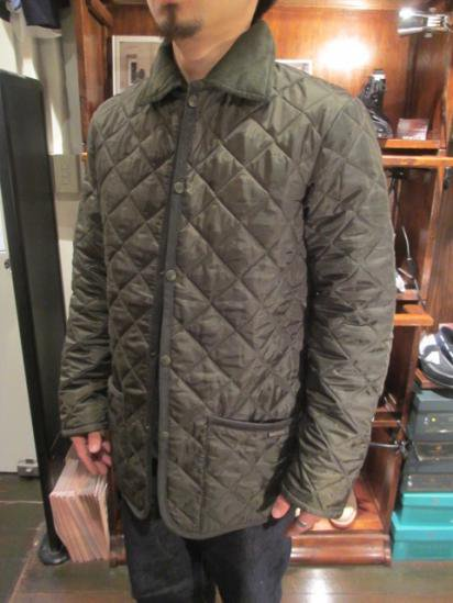 LAVENHAM Quilted Jacket Made in England Style sample