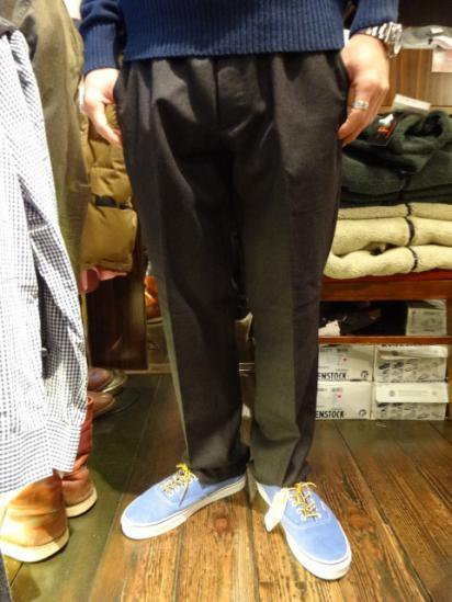 J.crew Flannel Wool Pants Chacoal Style sample