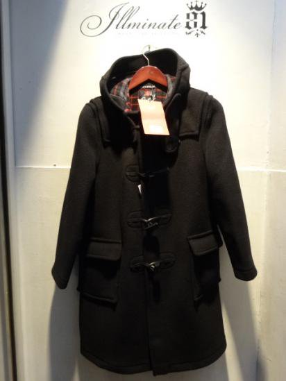 Gloverall Duffle Coat MADE IN ENGLAND Black
