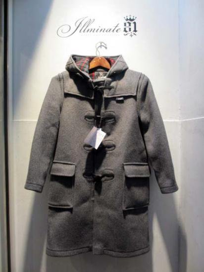 Gloverall Duffle Coat MADE IN ENGLAND Gray