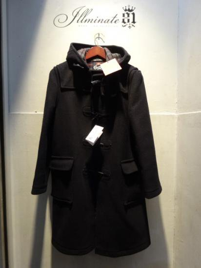Gloverall Duffle Coat MADE IN ENGLAND Navy