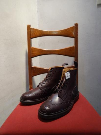 Tricker's Country Boots MADE IN ENGLAND