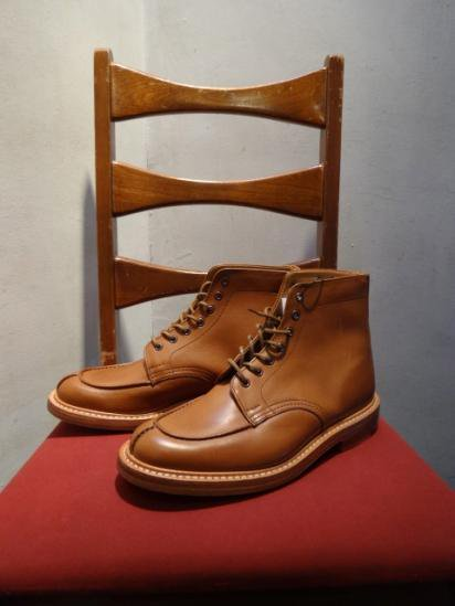 Tricker's U-tip Boots MADE IN ENGLAND
