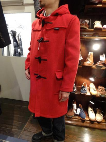 Gloverall Duffle Coat MADE IN ENGLAND Style sample