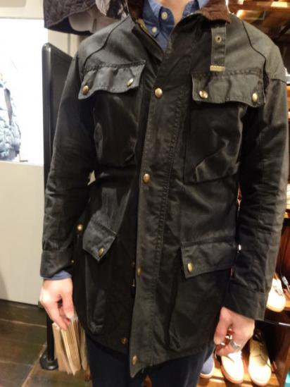 70's Vintage Belstaff Trial Master Made in England Style sample
