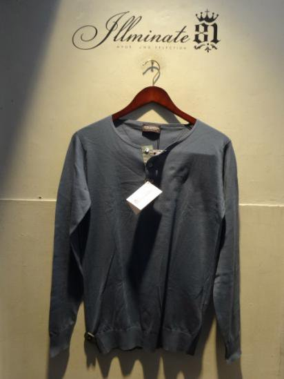 John smedley SeaIsrand Cotton Knit Henley Neck Shirts<BR>SALE! 19,800 + Tax → 13,860 + Tax