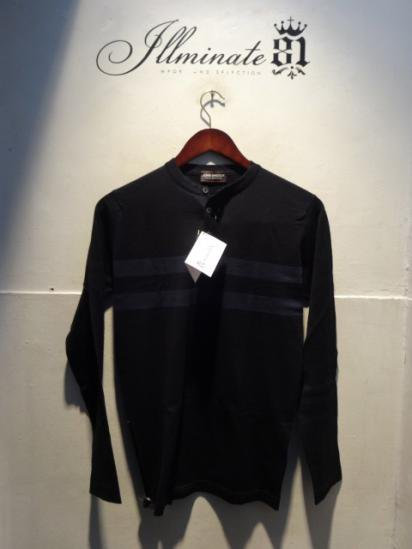 John smedley Sea Island Cotton Knit Henley Neck Shirts<BR>SALE! 19,800 + Tax → 13,860 + Tax