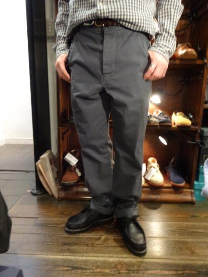 MARGARET HOWELL WORK PANTS MADE IN ITALY Style sample