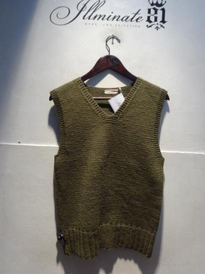 40-50's Vinatage American Red Cross Knit Vest