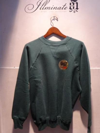 70-80's Dead Stock Healthknit Front Gazette Sweat Shirts Made in U.S.A