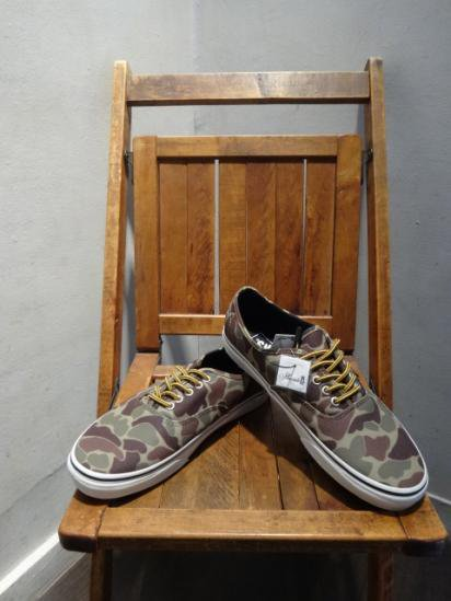 VANS Waxed Canvas Authentic