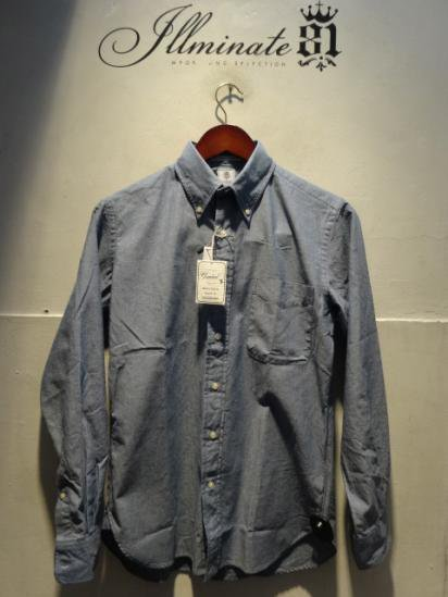 Gambert Washed Ox B.D Shirts Hand Made in America Chambray