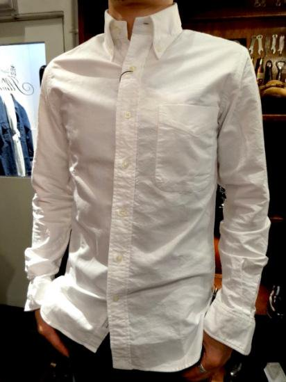 Gambert Washed Ox B.D Shirts Hand Made in America Style sample