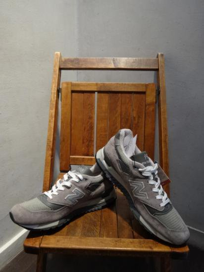 New Balance 998 Made in U.S.A Gray