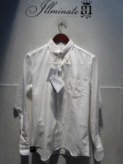 "INDIVIDUALIZED SHIRTS ""Arrow Oxford"" illminate 別注 white"
