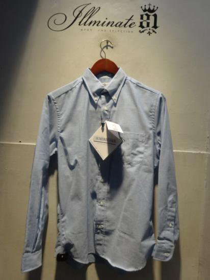 "INDIVIDUALIZED SHIRTS ""Arrow Oxford"" illminate 別注 Sax"