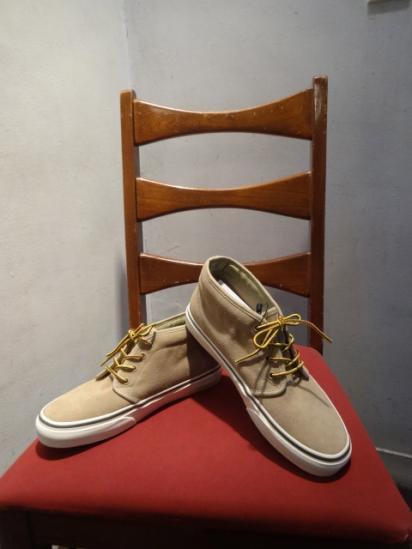 J.Crew × Vans Suede Chukka Boots Beige