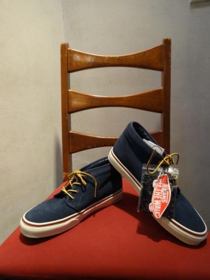 J.Crew × Vans Suede Chukka Boots Navy