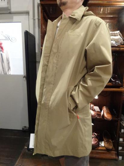 Patagonia Fogbank Trench Coat Style sample