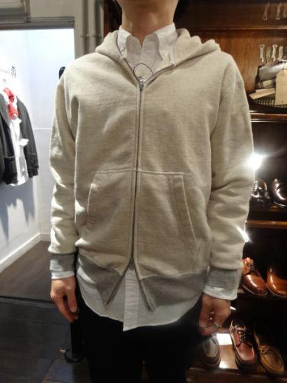 National Athletic Goods Sweat Zip Parka Made in CANADA Style sample