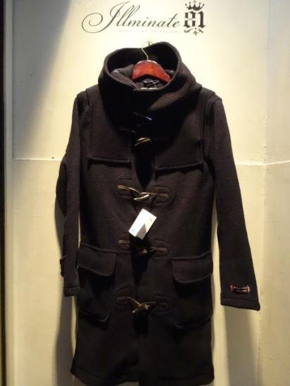 MONTGOMERY x MALLALIEUS Duffle Coat Made in England & Woven in England