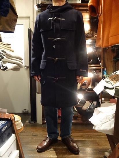 MONTGOMERY x MALLALIEUS Duffle Coat Made in England Style Sample