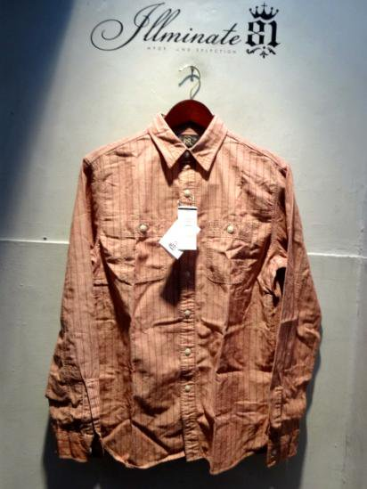 RRL Stripe Work Shirts<BR>SALE! 12,800 + Tax → 8,960 + Tax