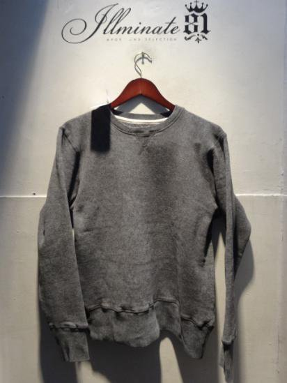 Made in Britain (Engaland/UK)<BR>Front V Gusset Sweat Shirts Chacoal Acid