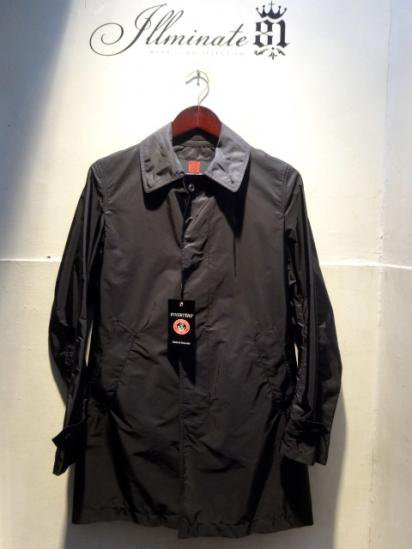 INVERTERE Limonta Nylon Packable Coat Made in ENGLAND Navy<BR>SALE! 62,000 → 55,000 + Tax